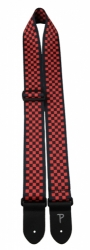 PERRI'S LEATHERS 6842 Red-Black Checkers
